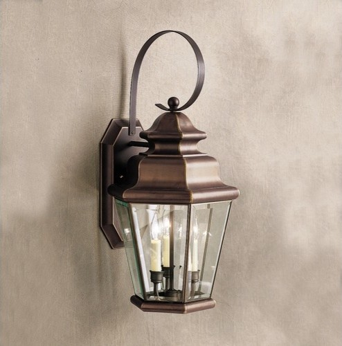 Savannah Estates  Outdoor Wall Lantern in Old Bronze modern-lighting