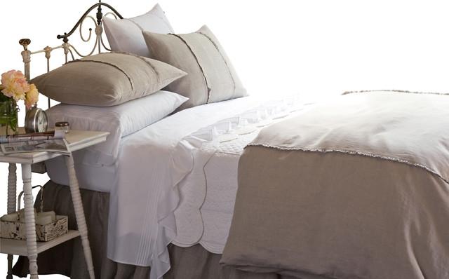 Hampton Natural Queen Duvet traditional-duvet-covers-and-duvet-sets