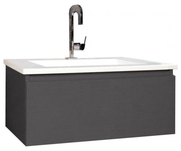 Posh Solus 600 All Drawer Vanity From Reece Contemporary Bathroom Vanities And Sink Consoles