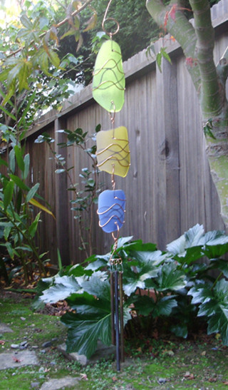 Sun Catcher Chime eclectic garden sculptures