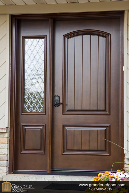 Custom wood doors by grandeur doors for New windows and doors