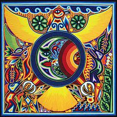 Huichol Yarn Art Collection - Huichol Yarn Painting - YP546