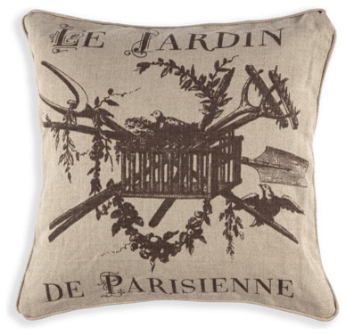Aidan Gray Pillow Le Jardin traditional-pillows