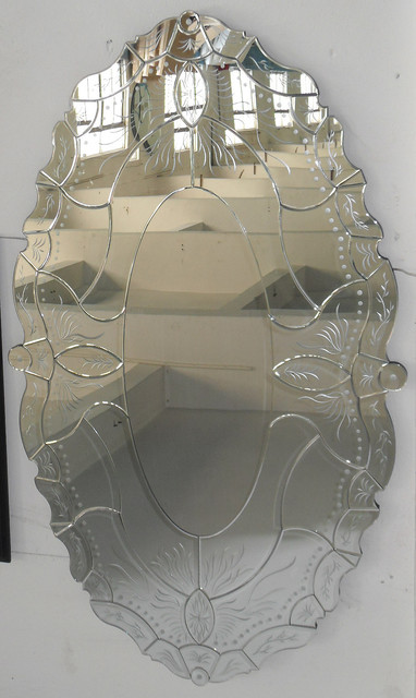 Venetian Wall mirror, antiqued wall mirrors everyday-glasses