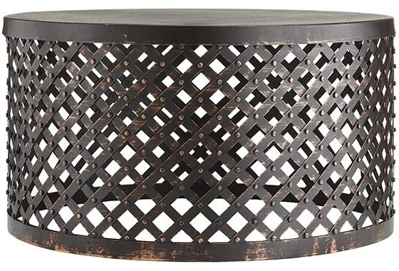 Shiva Lattice Coffee Table Industrial Outdoor Coffee Tables By Home Decorators Collection