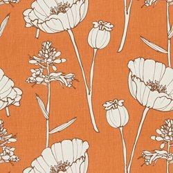 Poppyfield / Tangelo modern-upholstery-fabric