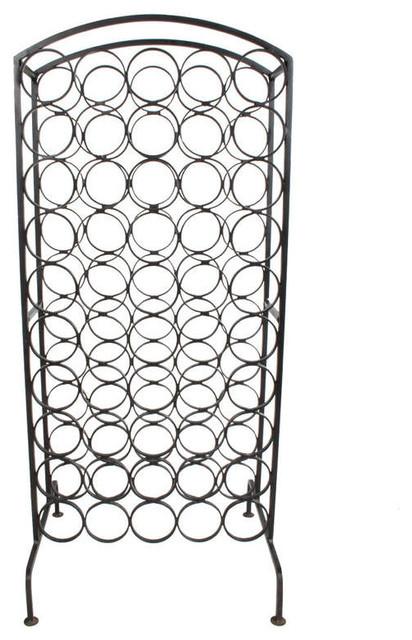 Arthur Umanoff Wrought Iron Wine Rack - Contemporary ...