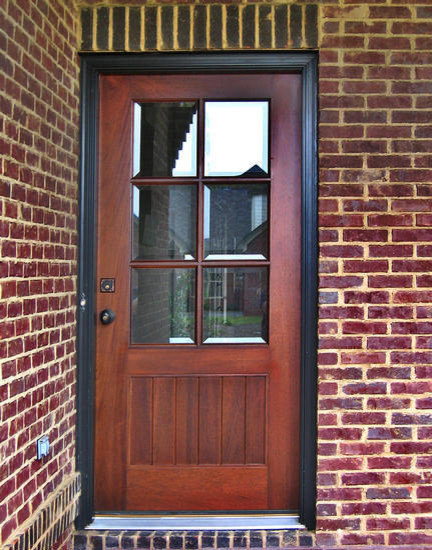 Craftsman doors traditional front doors other metro for Front and back doors
