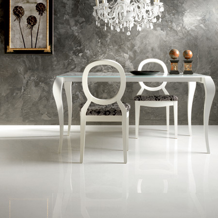 Cristal White Porcelain Tile Floor Modern Wall And