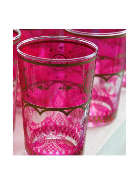Colorful Moroccan Tea Glasses -