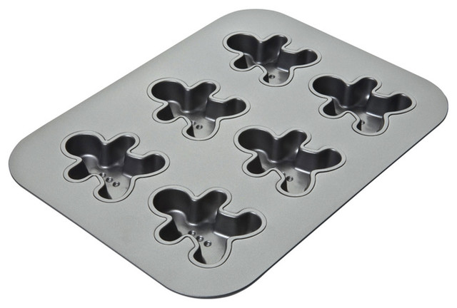 Chicago Metallic Gingerbread Man Pan contemporary-cupcake-and-muffin-pans