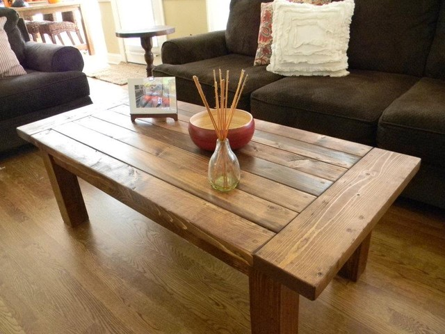 Custom Coffee Table eclectic-coffee-tables