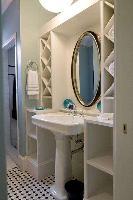 New Homes traditional-bathroom