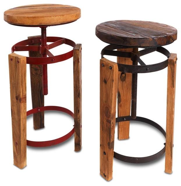 Sula Reclaimed Stool Rustic Bar Stools And Counter  : rustic bar stools and counter stools from houzz.com size 622 x 640 jpeg 80kB