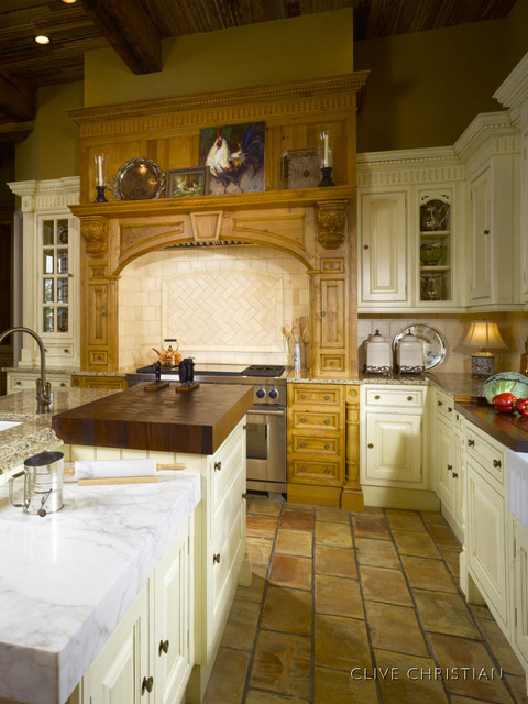 Clive Christian Kitchen In Antique French Oak Cream Traditional Atlanta By Hungeling