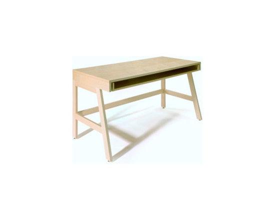 Maple Trundle Desk -