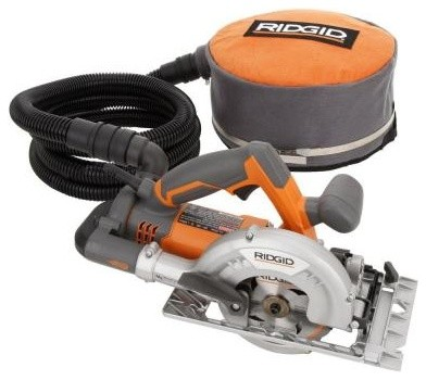 RIDGID 8-Amp 5 in. Fiber Cement Circular Saw R3401 - Contemporary - Gardening Tools - by Home Depot