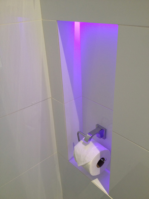 Coquitlam Chromotherapy Spa modern-bathroom