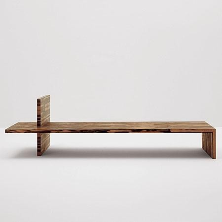 Cappellini Waterside Ebony Bench By Claudio Silvestrin contemporary-coffee-tables