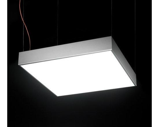 BLux - L Flow Square Pendant Light | BLux - Design by David Abad.