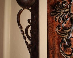 FAVORITE SCROLLED IRON CANDLE SCONCES TO ACCENT YOUR WALL DECOR  candles and candle holders