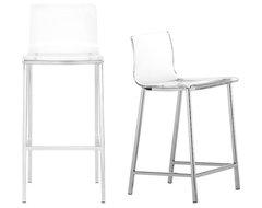 Vapor Bar Stool | CB2 contemporary bar stools and counter stools