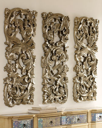Floral Baroque Wall Decor Traditional Artwork by Horchow