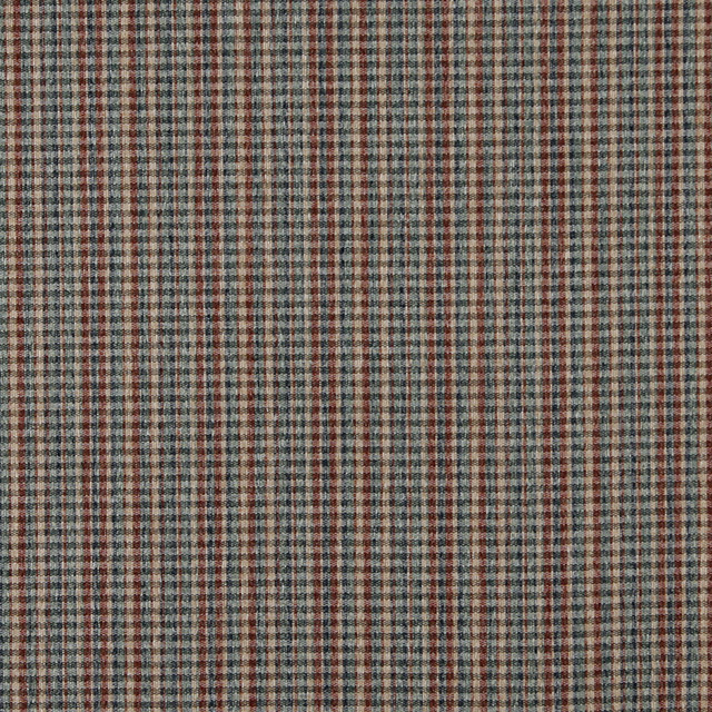 Blue Green Beige And Red Small Plaid Country Tweed
