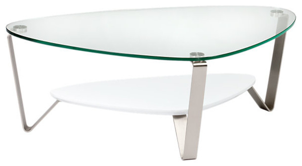 Small Dino Coffee Table-Gloss White contemporary-coffee-tables