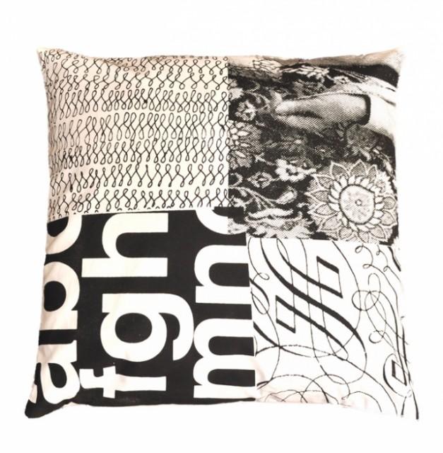 Patch Print Cushion contemporary-decorative-pillows
