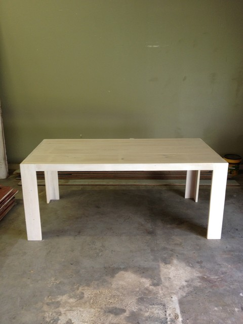 Cypress Wood Dining Table