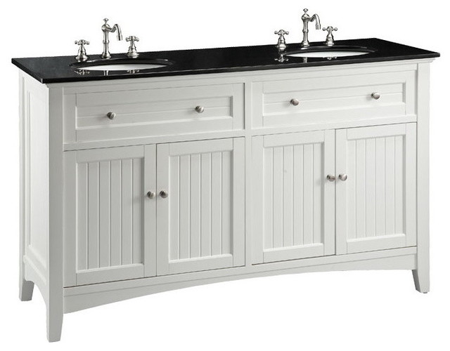 60 Cottage Style Thomasville Bathroom Sink Vanity Transitional Bath