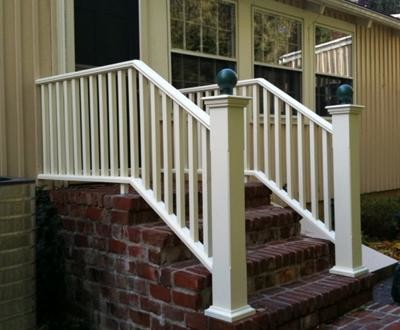 Step Railing Traditional Outdoor Grills Other Metro