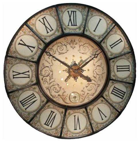 Old Style French inspired clocks and elegant time pieces eclectic clocks