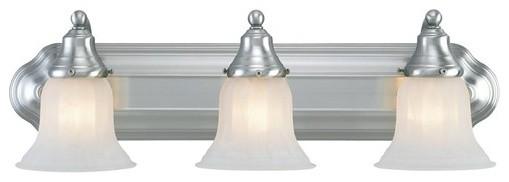 Richland  Vanity Light  in Satin Nickel modern-bathroom-vanity-lighting