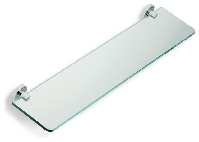 Glass Bathroom Shelf By StilHaus Contemporary Display And Wall Shelves