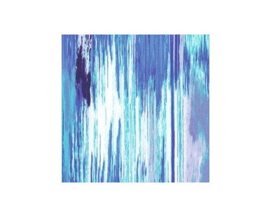 Aquatic Stripe in Blue -