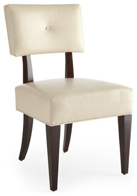 "Bernhardt ""Jordan"" Upholstered Side Chair traditional-living-room-chairs"