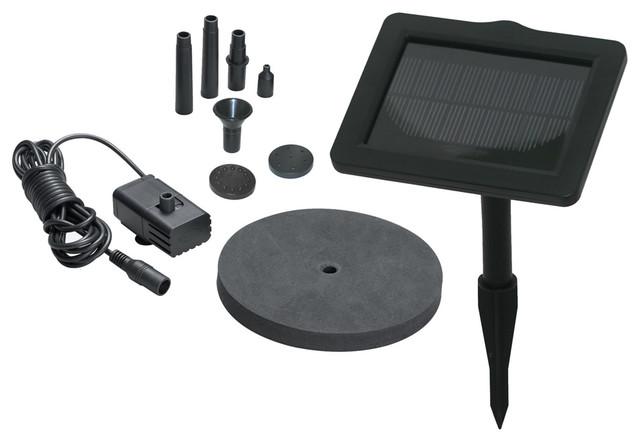 sunjet 150 solar fountain kit bauhaus look. Black Bedroom Furniture Sets. Home Design Ideas
