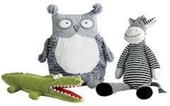 Pier 1 Imports - Plush Animals eclectic-kids-toys-and-games
