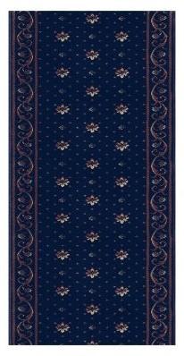 Rivington Rug Rockwall Runner - Boysenberry modern-rugs