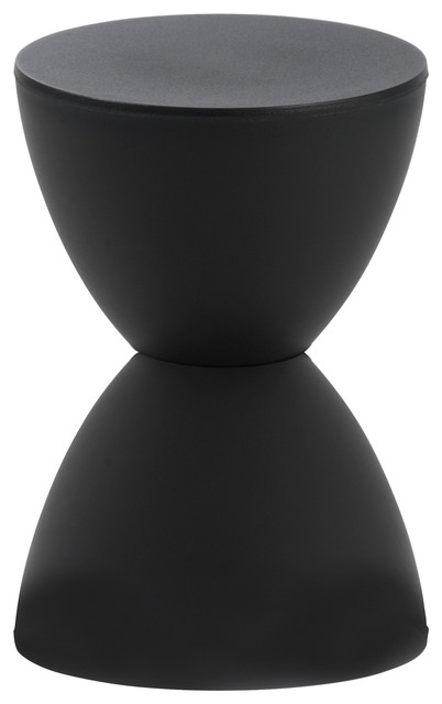 Sallie Stool-Black contemporary-footstools-and-ottomans