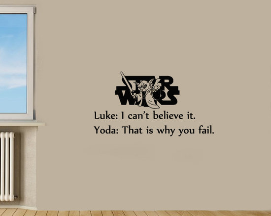 Vinyl Decals Believe Star Wars Quote Home Wall Decor Removable Sticker Mural L54 -