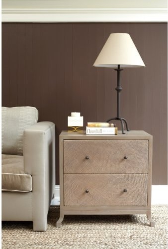 Caprice 2 Drawer Nightstand modern-nightstands-and-bedside-tables