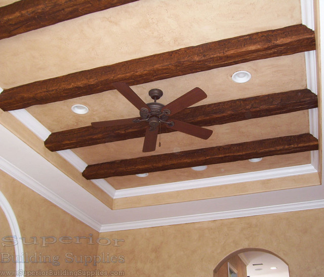 Superior faux wood beams traditional other metro by for Where to buy faux wood beams
