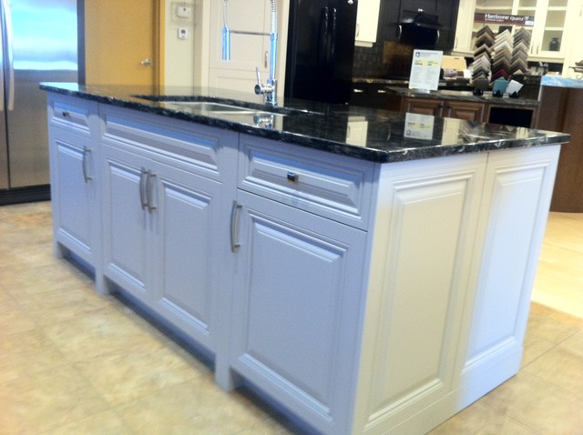Gem Cabinets Showroom traditional-kitchen-islands-and-kitchen-carts