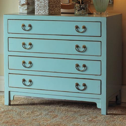 Hudson Blue Chest Eclectic Accent Chests And Cabinets