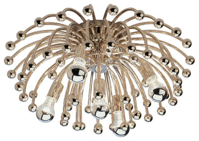 Anemone Wall / Ceiling Mount by Robert Abbey contemporary-flush-mount-ceiling-lighting