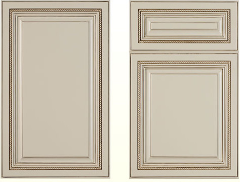 Mushroom Classic Traditional Kitchen Cabinetry