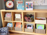 home design Bright Idea: A Fun Shade of Red for a Sunny Playroom (5 photos)
